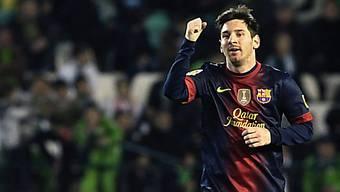 Lionel Messi besser als Gerd Müller.