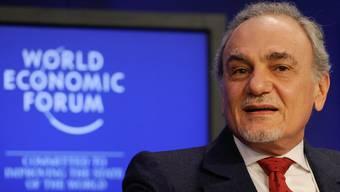 Prinz Turki Al Faisal Al Saud am WEF 2011.