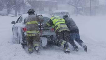 Schneesturm in Buffalo