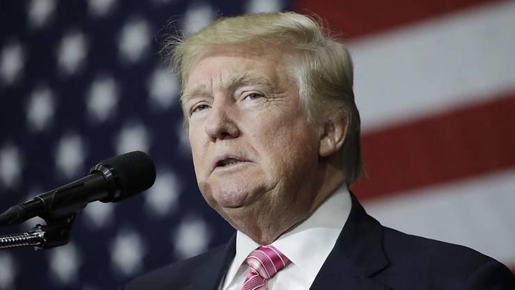 """Laut der """"New York Times"""" könnte Donald Trump während 18 Jahren keine Steuern gezahlt haben."""