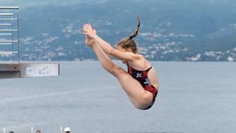 Michelle Heimberg während der Jugend-Europameisterschaft 2016 in Rijeka, Kroatien.