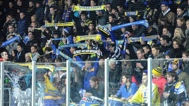 Die letztlich stark angewachsene Anhängerschaft des SC Langenthals besteht nicht nur aus friedlichen Fans.