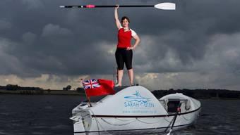 Sarah Outen musste während ihrer Tour zweimal aus Seenot gerettet werden. (Archivbild)