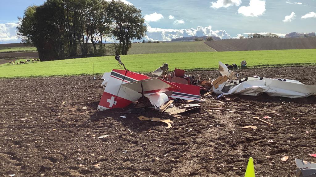 Kleinflugzeug über dem Waadtland abgestürzt: Der Pilot ist tot