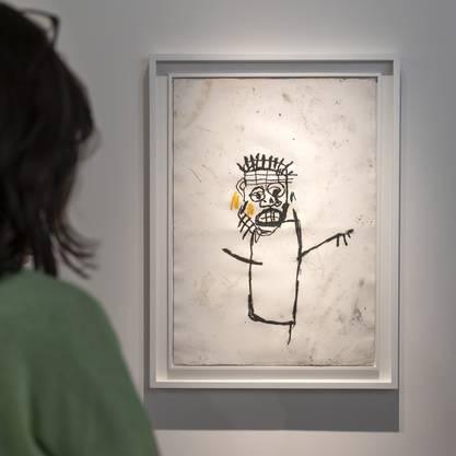 Unbenannte Kunst von Jean-Michel Basquiat.