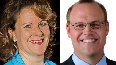 Ruth Ackermann (l.) und Alexander Jäger sind die neuen Kantonsräte
