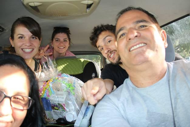 José und Felicia lassen mich aufatmen_Das mexikanische Pärchen fährt uns nach Los Gatos im Silicon Valley