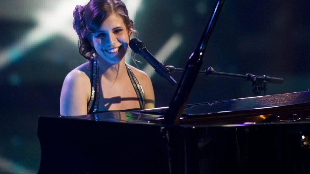 """Eliane Müller, Siegerin von """"Die grössten Schweizer Talente 2012"""", ist offenbar die perfekte Wiegenlied-Interpretin für Säuglinge. (Archivbild)"""
