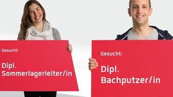 Freiwillige geben der Plattform benevol-jobs.ch ein Gesicht. ho