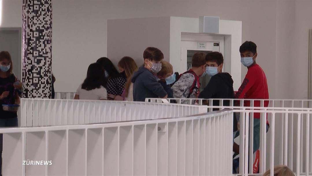 So erleben Zürcher Schüler den Schulstart mit Maskenpflicht