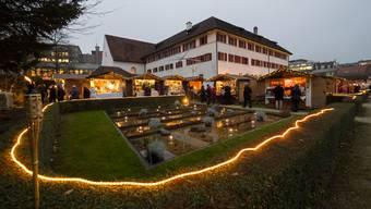 Der Klostergarten im Adventslicht ist Geschichte.