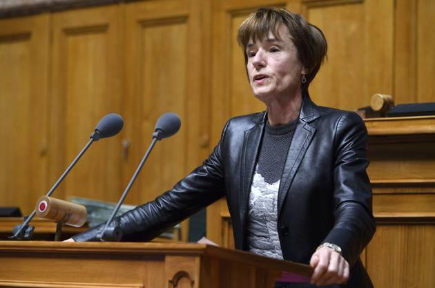 Ruth Humbel ist enttäuscht: «Die Kantone haben nichts Neues präsentiert.»