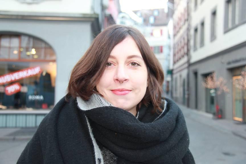 Sabrina Deuss legte den Fokus auf ihr Studium