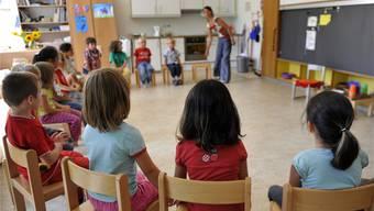Auch bei einem Zusammenschluss wird in den vier Gemeinden des Projektes «Zukunft mittleres Fricktal» weiterhin in jedem Ortsteil ein Kindergarten geführt. (Symbolbild?