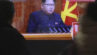 Erneute Schlagzeilen: Angeblich liess Kim Jong-Un seinen Armeechef hinrichten (Archiv).