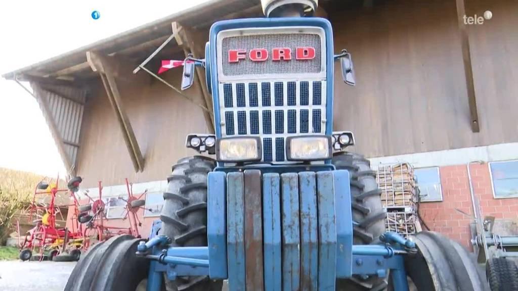 Obwaldner Bauer importiert Traktoren aus Amerika