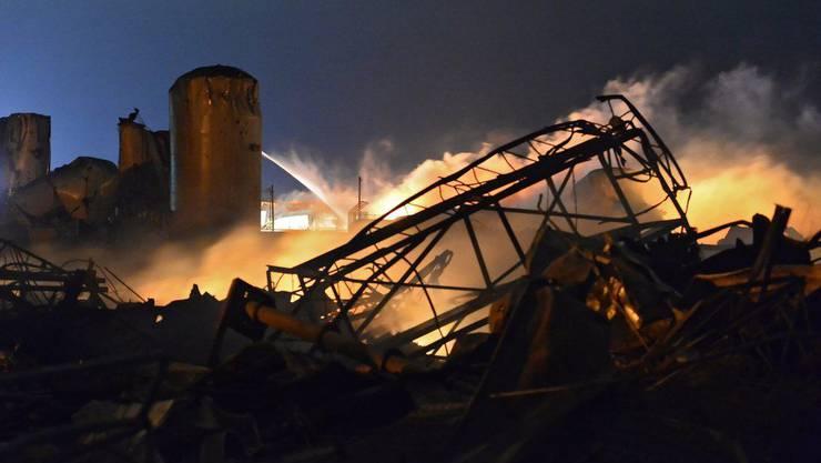 Zu mehreren Feuerwehrleuten besteht kein Kontakt mehr