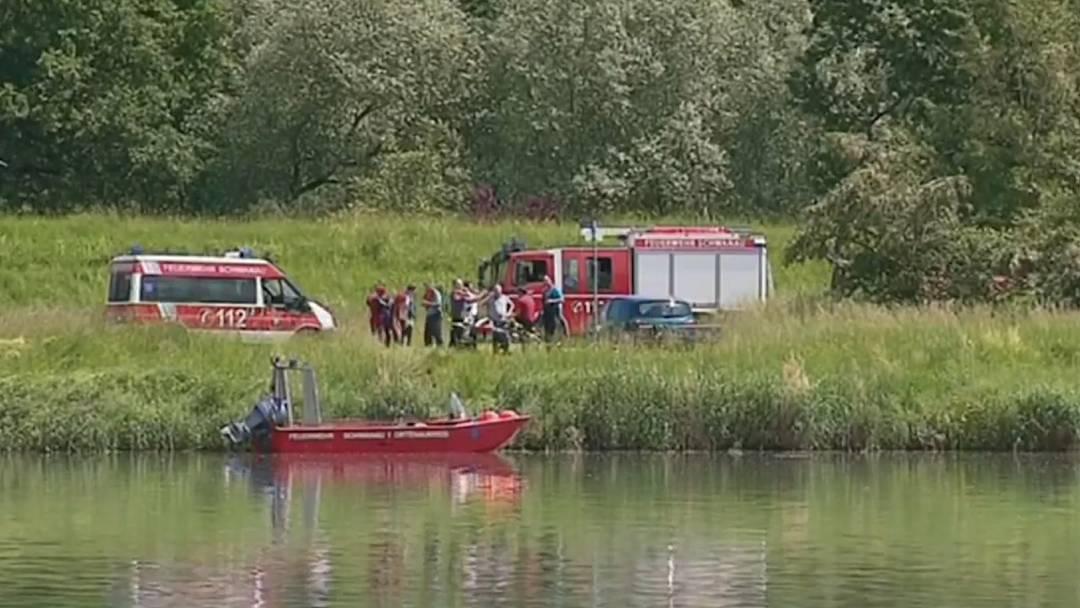 Schlauchboot-Unglück auf dem Rhein im Elsass