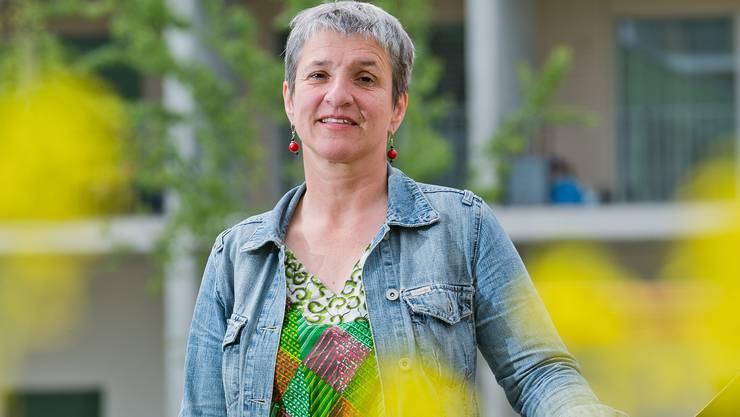 Kantonsrätin und Coachin sabine Ziegler will das Gemeinschaftsgefühl in der Siedlung stärken.