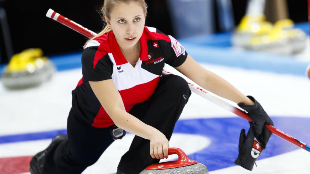 Elena Stern und ihr Team sind eine grosse Hoffnung im Schweizer Curling