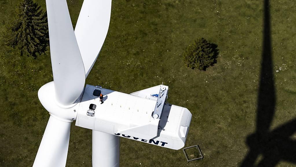 Das Thema Windenergie hat in Hitzkirch LU zu einer politischen Debatte geführt. (Symbolbild)