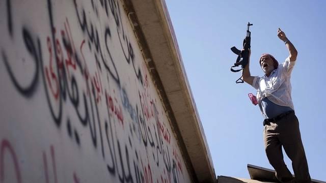 Die Rebellen haben viele Gebiete Libyens in ihrer Gewalt (Archiv)