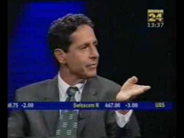 1999: SVP-Präsident Ueli Maurer stürmt aus dem Studio