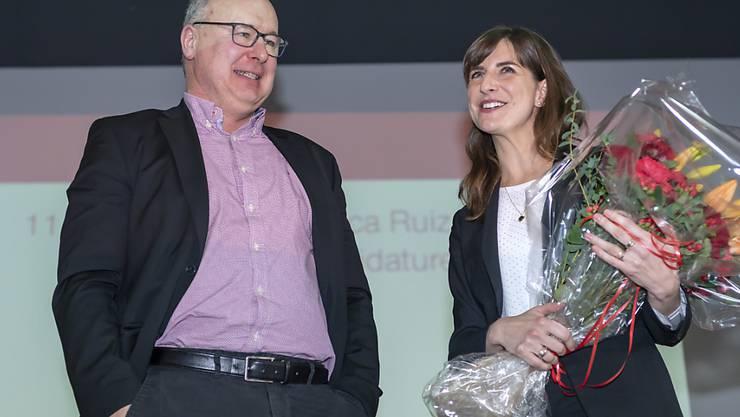Die 36-jährige Nationalrätin Rebecca Ruiz wurde von den Delegierten der SP Waadt als einzige Kandidatin für die Nachfolge des abtretenden SP-Regierungsrates Pierre-Yves Maillard aufgestellt.