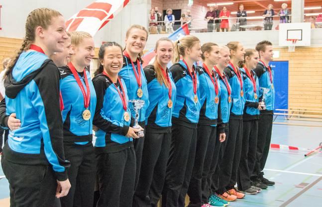 Die beiden Schweizermeister Teams Baar 2 und Baar 5