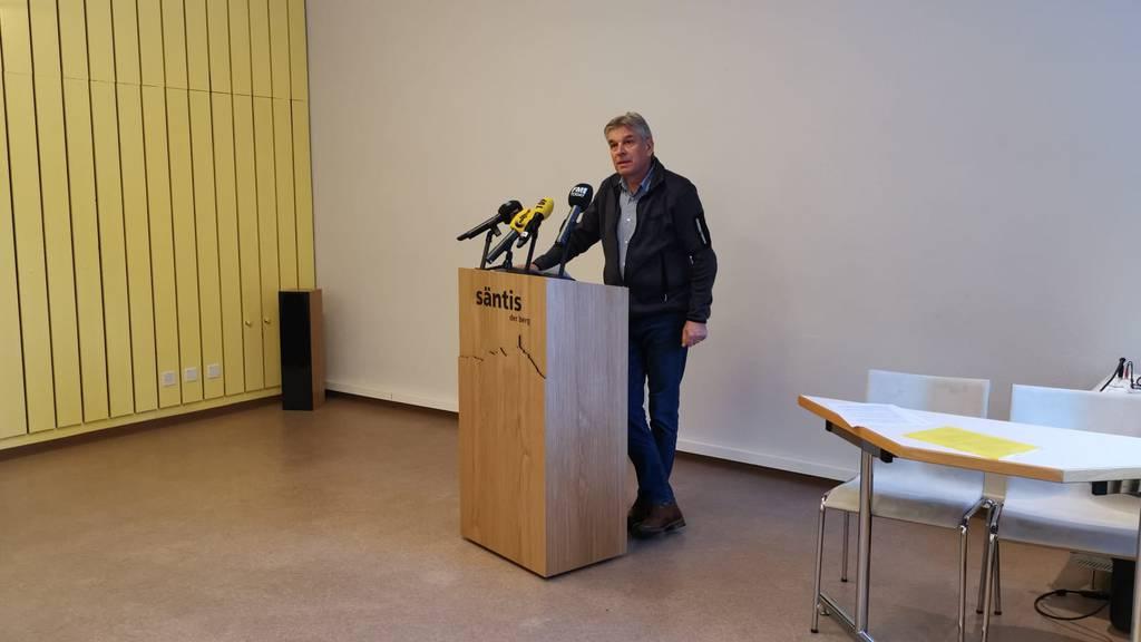 Bruno Vattioni, Geschäftsführer Säntis-Schwebebahn AG