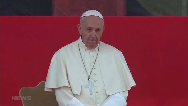 Papst Franziskus kommt nach Genf