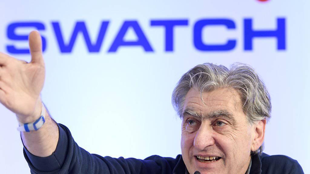 """""""So ein Quatsch"""": Swatch-Chef Nick Hayek zu Investitionskontrollen in der Schweiz gegenüber chinesischen Firmen. (Archivbild)"""