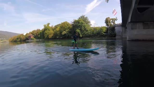 The Aare riders sequence — Stand Up Paddle auf der Aare in Olten