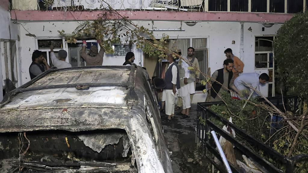 US-Militär: Luftangriff in Kabul tötete Unschuldige