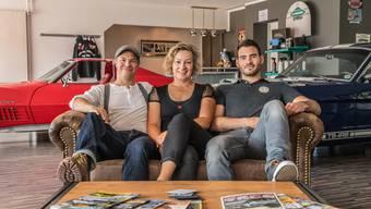 Traumautofabrikanten: Hans Wittkopp, Katja Schaalburg und Luciano Cahenzli .