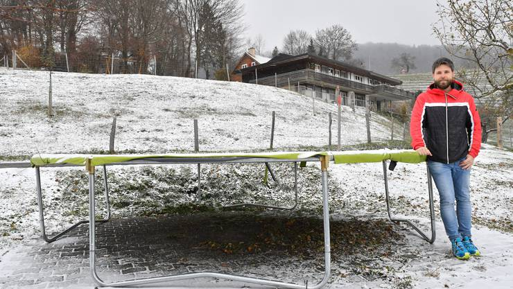 WG-Treffpunkt-Geschäftsführer Michael Häfeli hat grosse Pläne für das Gebiet rund um die Hupp Lodge in Wisen.