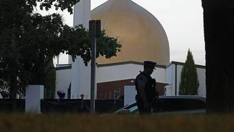 Die Hauptmoschee Al Noor in Christchurch.