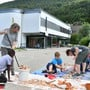 Die Holderbanker wollen, dass Kindergarten und Primarschule (Szene aus der Projektwoche) nicht nach Balsthal gehen.
