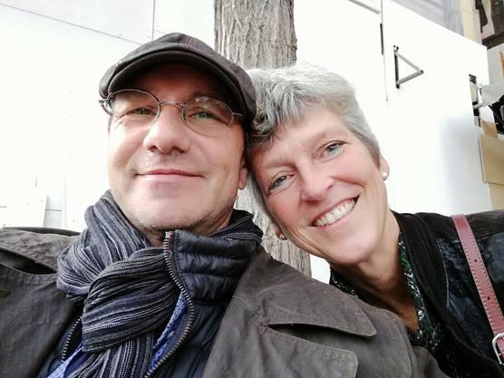 Ulrich Henschel mit seiner Frau Ruth.
