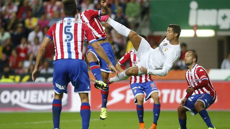 Cristiano Ronaldo ohne Erfolg im Abschluss