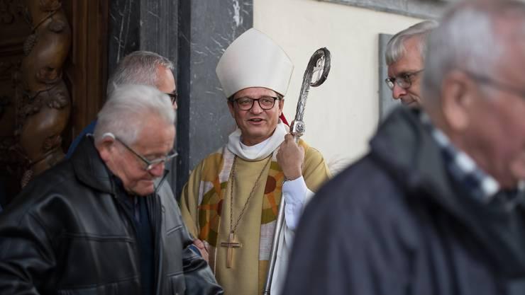 Der Basler Bischof Felix Gmür, Präsident der Schweizerischen Bischofskonferenz. (Archivbild)