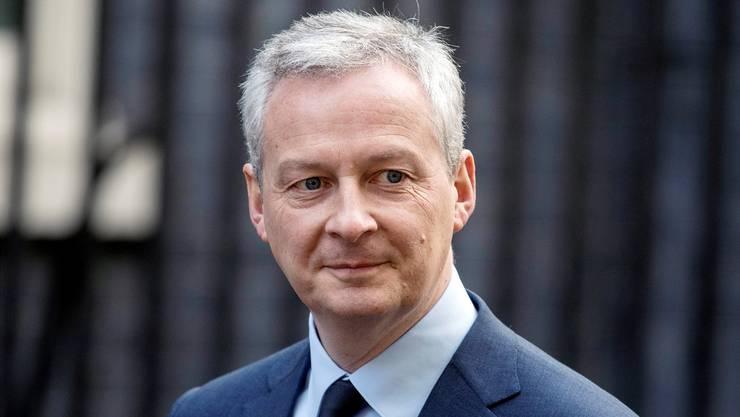 Wirtschafts- und Finanzminister Bruno Le Maire.