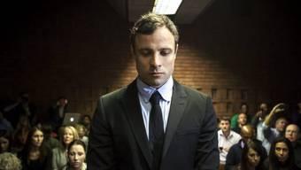 Oscar Pistorius bei der Anhörung vom Montag (Archiv)
