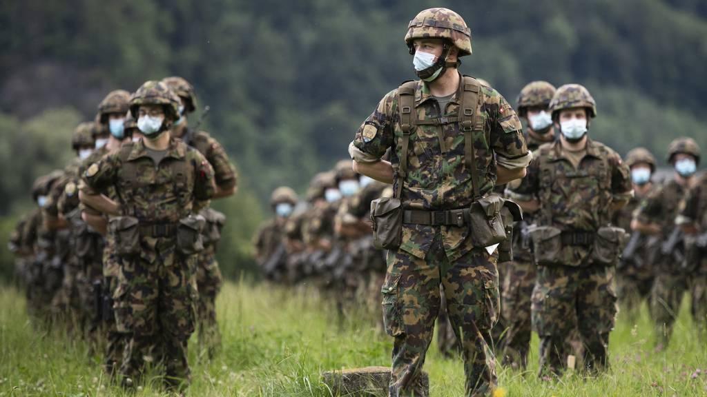 Coronakrise verhilft der Schweizer Armee zu mehr Rückhalt in der Bevölkerung