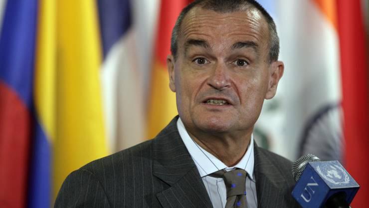 Gérard Araud, Botschafter Frankreichs in den USA.