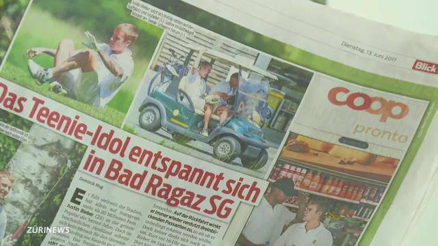 Schweiz im Bieber-Fieber