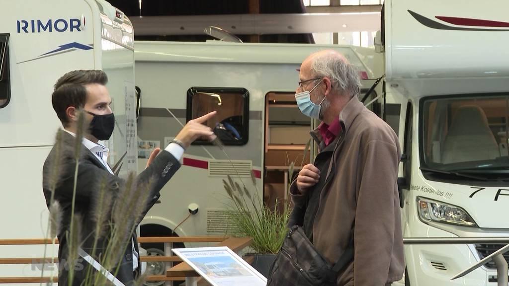 7'000 Personen täglich: Suisse Caravan Salon gilt nicht als Grossveranstaltung