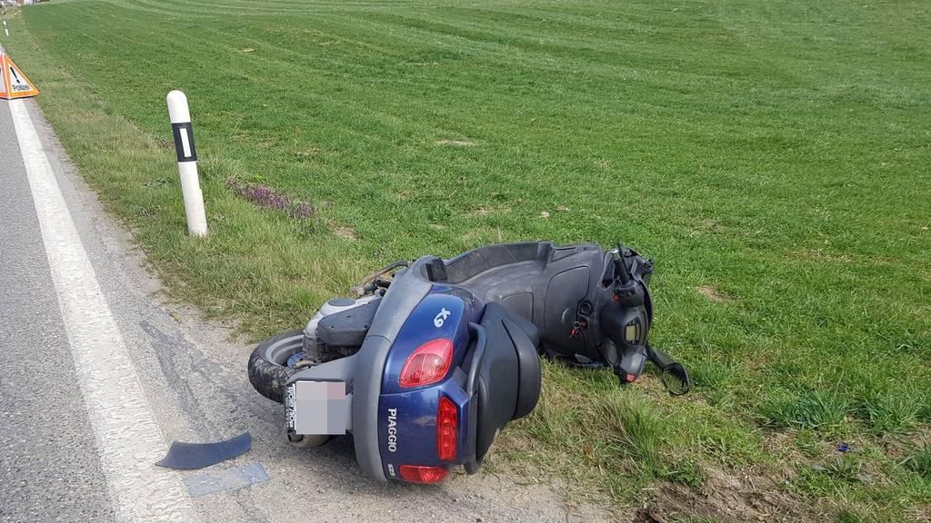 Unfall in Fahrwangen