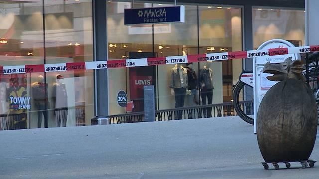 Verdächtiger nach Bombendrohung im Manor Baden verhaftet