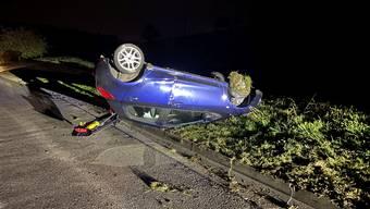 Der Neulenker verlor die Kontrolle über sein Fahrzeug.